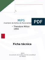 Personalidad Millon MIPS ZETa