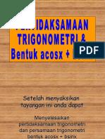 Trigonometri-3-(Bentuk Cos x + Sin x)