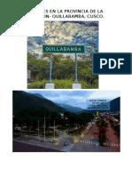 Inmuebles en La Provincia de La Convencon