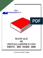 Errori IBD2000LC MasterWood