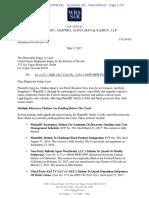 Statement to Court by Plaintiffs