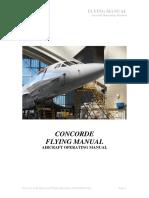 Concorde Aircraft Operating Manual