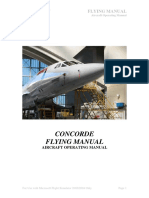 Concorde Aircraft Operating Manual