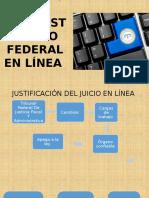 Juicio Contencioso Administrativo Federal en Línea