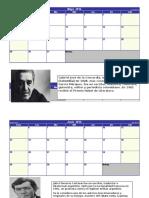 Calendario Literatuta.