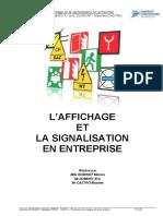 Affichage Signalisation en Entreprise