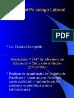 El Rol Del Psicólogo Laboral 28-03 (2)