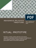 indigenous rituals