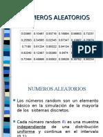DEFINICION DE NUMEROS ALEATORIOS