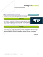 R&D Project Grant Cost Template