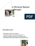 Analisis Mineral