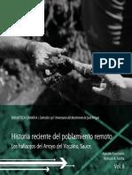 Courtoisie Fariña 2015 Historia Reciente Del Poblamiento Remoto Web
