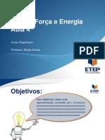 Física - Força e Energia Aula 4