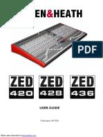 Allen & Heath Utility Trailer ZED-420