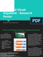 advanced visual argument - research poster  1