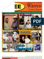 The late July, 2010 edition of Warren County Report.