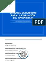Catalogo de Rubricas Para La Evaluación Del Aprendizaje 2017
