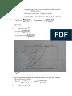 Segunda Evaluación de Operaciones de Transferencia de Masa en Equilibrio II