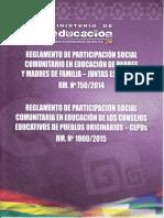 REGLAMENTO DE PARTICIPACIÓN SOCIAL RM. Nº 750 - Nº 1000.pdf