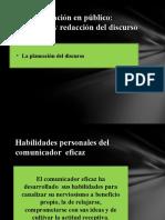 Comunicación Oral y Escrita Exposición