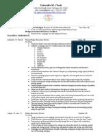 Saline e Portfolio Resume