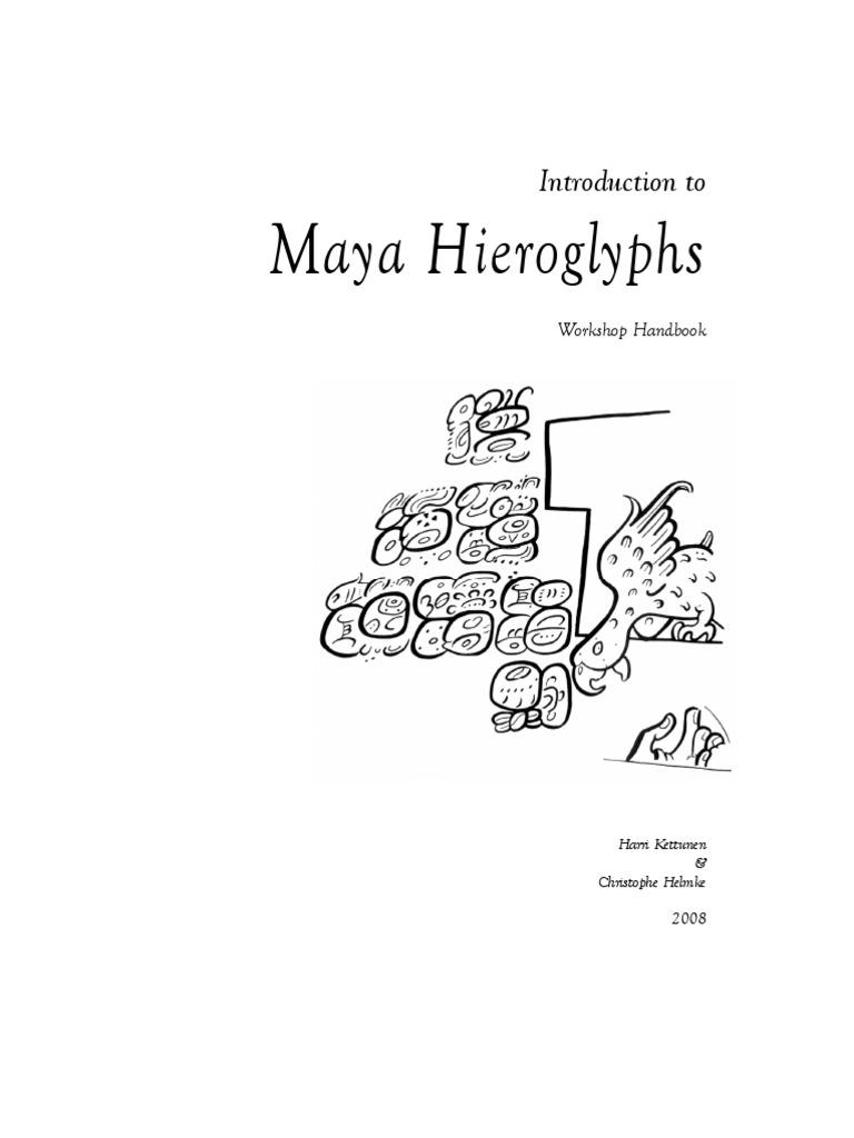 Maya hieroglyphs writing yucatn peninsula fandeluxe Choice Image