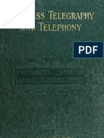 (1906) Wireless Telegraphy and Telephony (Wireless Radio)