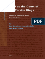 [NHMS 087] Iain Gardner, Jason D. BeDuhn, Paul Dilley Mani at the Court of the Persian Kings Studies on the Chester Beatty Kephalaia Codex 2015.pdf