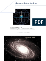 Coordenadas Astronómicas