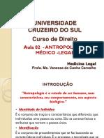 Aula 2 - Antropologia Médico-Legal