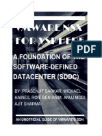 NSX for VSphere - A Foundation of the SDDC