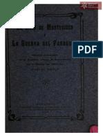 El Sitio de Montevideo y la Guerra del Paraguay, discursos pronunciados por Carlos Roxlo. Montevideo. Año 1907