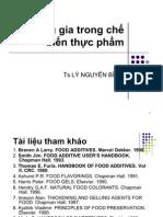Chat Tao Vi Va Mau Cho Thuc Pham