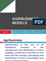 agribusiness models
