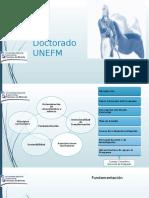 Propuestas de doctorados UNEFM