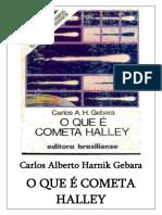 O que é Cometa Harrley - Carlos A H Gebara.pdf