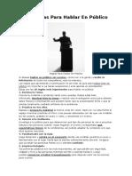 10 Reglas Para Hablar En publico.docx