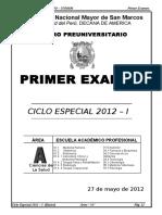BASICO 1° EXAMEN -2012-I AREA A imprimir