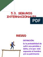 5.0. Seguros Internacionales