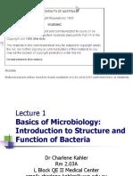 Basics of Microbiology