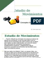 1 Estudio de Movimientos