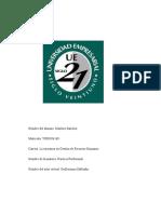 Proyecto Evaluación de Desempeño en una empresa privada