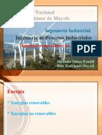 Energia Renovable y No Renobale