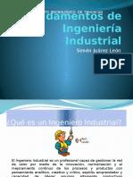 1 Fundamentos de Ingeniería Industrial
