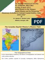 CBHS Annual Meeting_ Presentation_ Dr. Santha Jetty.pptx