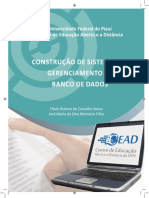 Bancos de Dados - UNIVERSIDADE ABERTA
