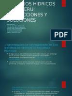 Gestion de Recursos Hidricos en El Peru (Perez Guzman Jhon Paul) Turno Lunes Mañana