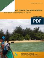 Aceh Barat Daya Dalam Angka 2016