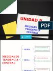 Unidad 09 Medidas de Tendecia Central.... Fazurav
