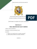 Quimica General AII Informe 1
